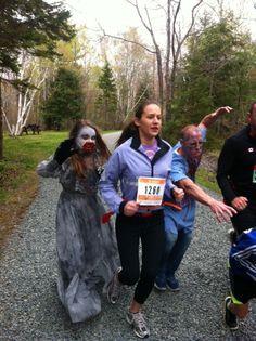 http://www.zombietrailrun.ca/  5 km Zombie Trail Run Sept 28th, Waverley,  Nova Scotia