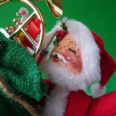 Vintage Santa Claus Annalee Doll in a Chimney by MrFilthyRotten, $18.00