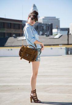 jeans-Peep Toes(cool)-handbag