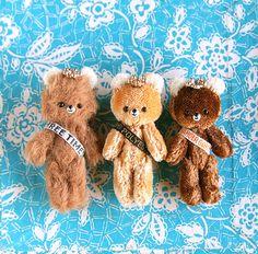 tiny teddy bears | I made these tiny handmade bear for Etsy … | Flickr