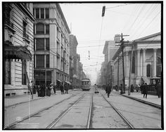 Fourth Ave. at Walnut St.- Seelbach Hotel on Left, Louisville, Ky., Mid 1900's