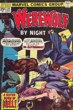 Werewolf by Night #29 cover by Gil Kane