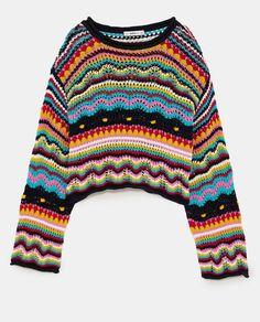 Jersey mutlicolor de Zara