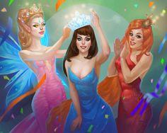 AO Beauty Contest Promo by Anylia Larmina on ArtStation. Bikini Open, Beauty Contest, Princess Zelda, Disney Princess, Disney Characters, Fictional Characters, Pin Up, Lady, Artwork
