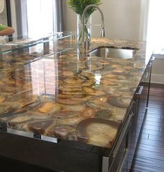 Itu0027s A M***** F****** Agate Geode Countertop! My Dream Home Is Almost  Complete (in My Mind...)! | For The Home | Pinterest | Agate Geode,  Countertop And ...