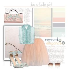 """be a tulle girl"" by emcf3548 ❤ liked on Polyvore featuring Thierry Lasry, Chicwish, Miu Miu, Office, RED Valentino and Rebecca Minkoff"