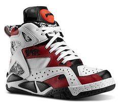 reebok pumps basketball shoes