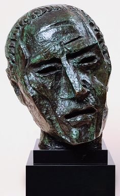 Ossip Zadkine - L'homme de New York - 1945 Человек из Нью-Йорка.