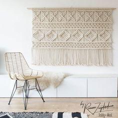 Macrame tapestry-etsy