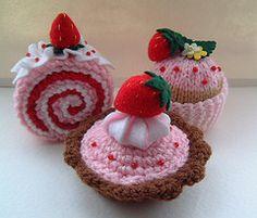 """Dulces crochet amigurumi sweets"" #Amigurumi #crochet"