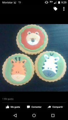 Galletas de animales