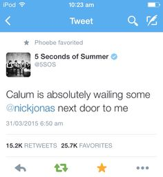 Tweet from the band account