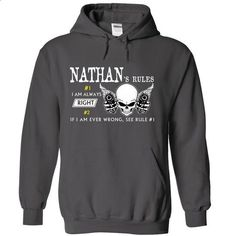 NATHAN RULE\S Team .Cheap Hoodie 39$ sales off 50% only - #denim shirt #hoodie allen. GET YOURS => https://www.sunfrog.com/Valentines/NATHAN-RULES-Team-Cheap-Hoodie-39-sales-off-50-only-19-within-7-days.html?68278