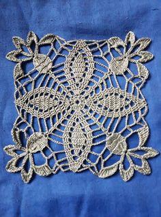 Crochet Blocks, Crochet Motif, Crochet Doilies, Knit Crochet, Crochet Necklace, Knitting, Crafts, Jewelry, Crochet Stitches