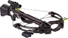 Barnett Ghost 410 CRT #crossbow Barnett Ghost 410, as far as power is concerned, is arguably one of the most powerful crossbows available on the market today. The majority of the crossbows available usually don't exceed 340 FPS of shooting speed. But no so with the Barnett Ghost 410 .This crossbow has an awesome speed of 410 FPS, which means that it can generate up to 150 ft-lbs. of kinetic energy, especially when you are using arrows akin to those included with the package at point blank…