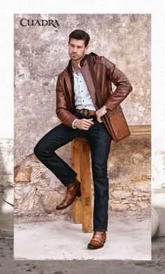 Cowboy Outfit For Men, Cowboy Boot Outfits, Cowboy Shoes, Classy Casual, Men Casual, Urban Cowboy, Skinny Guys, Mens Attire, Best Wear