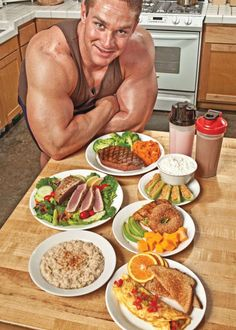 Which are your favorite muscle building foods?