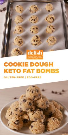 Have All The Fun And None Of The Sugar With Cookie Dough Keto Fat BombsDelish