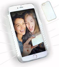 LED Illuminated Selfie Light iPhone Case (Snow White)
