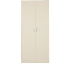 Oto 2 Door Pantry Wide L 80cm x D 40cm x H 180cm $159 Linen Storage, Storage Room, Tall Cabinet Storage, Value Furniture, Bed Furniture, Cupboard, Pantry, Doors, Colour