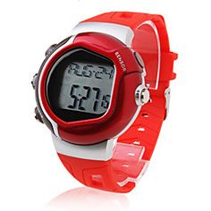 Unisex Calorie Counter Pulse Heart Rate Monitor Digital Wrist Watch (Red). Get unbeatable discount up to 60% Off at Light in the Boxs with Coupon and Promo Codes.