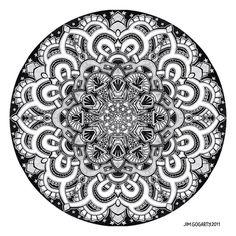 Mandala drawing 12 by Mandala-Jim on deviantART