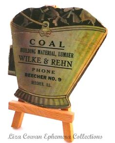 Coal needle pack liza cowan ephemera collections, via Flickr