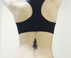 22 Photos of Mystical Pine Tree Tattoos: