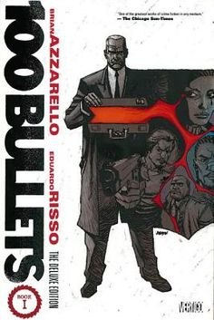 100 BULLETS - THE DELUXE EDITION, V.1 Best Comic Noir: Vengeance, in pure form: a victim of a horrible wrong, a mysterious agent named Mr. Graves, a handgun, information on their potential target, and 100 rounds (untraceable by any law agency) to get the job done. And not just 100 bullets, but 100 issues — that means a centennial's worth of noir and juicy, bloody pulp.