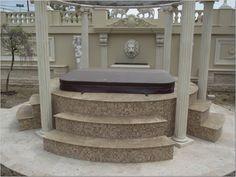 idei trepte contratrepte marmura granit travertin GVB Stone Division Outdoor Furniture, Outdoor Decor, Division, Ottoman, Bench, Stone, Home Decor, Travertine, Rock