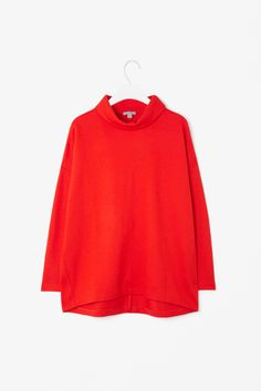 Wide roll-neck top