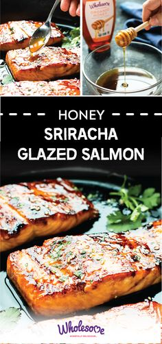 Ready for your new favorite healthy, go-to dinner idea? Check out this recipe for Honey Sriracha Glazed Salmon made with Wholesome Organic Honey! After checking out this delicious combination of fresh seafood, pure, organic honey, soy sauce, fresh ginger, and more, you won't believe how quick and easy it can be to serve up a healthy dish to your family—we're talking just 30 minutes!
