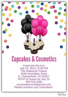 Reserve your cupcake today. Try all the new summer glow products at the beauty bar. Bring a friend and earn a free gift.