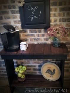 Coffee Bars-Stations - Kris~ Handmadeology.101's clipboard on Hometalk, the largest knowledge hub for home & garden on the web