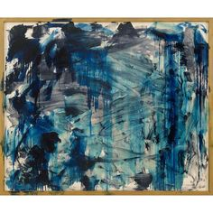 Howard Hodgkin: Lagoon Discover the coolest shows in New York at… Tachisme, Richard Diebenkorn, Blue Abstract Painting, Abstract Landscape, Abstract Paintings, Action Painting, Jackson Pollock, Howard Hodgkin, A Level Art
