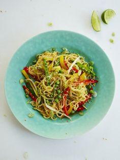 Veggie Noodle Stir Fry   Vegetable Recipes   Jamie Oliver