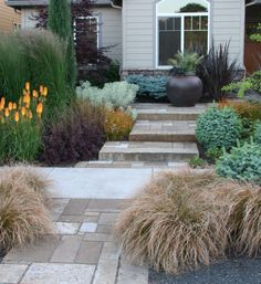 Looks to be a more drought tolerant garden - love the color variations