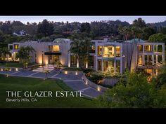 The Glazer Estate | $69.5 Million | Beverly Hills Mansion Interior, Dream House Interior, Dream Home Design, House Design, Design Web, Luxury Modern Homes, Luxury Homes Dream Houses, Luxury Estate, Beverly Hills Mansion