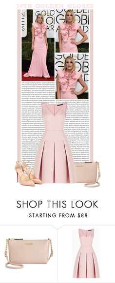 """""""#1454 (74th Annual Golden Globe Awards)"""" by lauren1993 ❤ liked on Polyvore featuring Oris, Calvin Klein, BCBGMAXAZRIA and Christian Louboutin"""