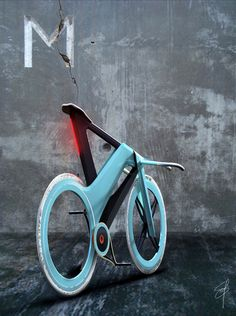 "blue and black ""MOOBY bike"" for mobile lifestyle 
