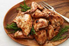 Date Glazed Roast Chicken.