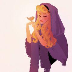 Walt Disney Animation, Animation Film, Disney Pixar, Disney Fan Art, Disney Love, Aurore Disney, Sleeping Beauty Art, Princesa Disney, Disney Fanatic