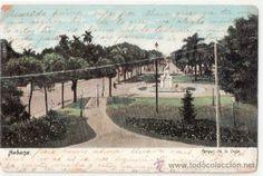 TARJETA POSTAL DE CUBA. HABANA. PARQUE DE LA INDIA. (Postales - Postales Extranjero - América - Cuba)