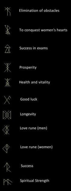 coolTop Tiny Tattoo Idea - Viking Runes...