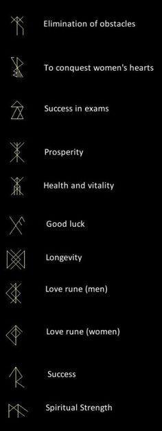 coolTop Tiny Tattoo Idea - Viking Runes...