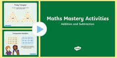 Year 2 Maths Mastery Add and Subtract Numbers PowerPoint - year 2, addition, subtraction, counting, money, calculating.,Australia