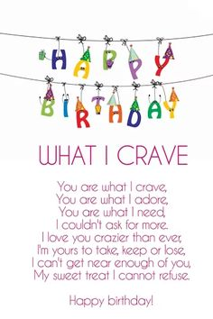 Funny birthday love poems