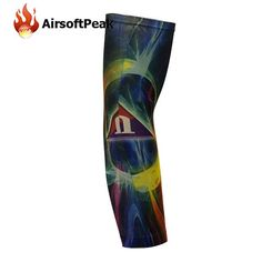 0121a1a991 Sunscreen Arm Sleeves Breathable Skull Skeleton Cuff Sleeves Cycling Hiking  Running Arm Stockings UV Protective Arm Warmers