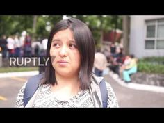 bf2a950971c3 Mexico  Women march against femicide in Mexico City after student s murder