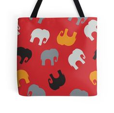 Seamless pattern with colorful elephants for textile, book cover, packaging.
